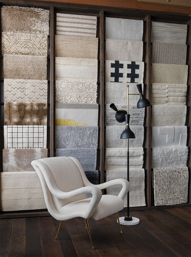 The Showroom's Chic Rug Gallery